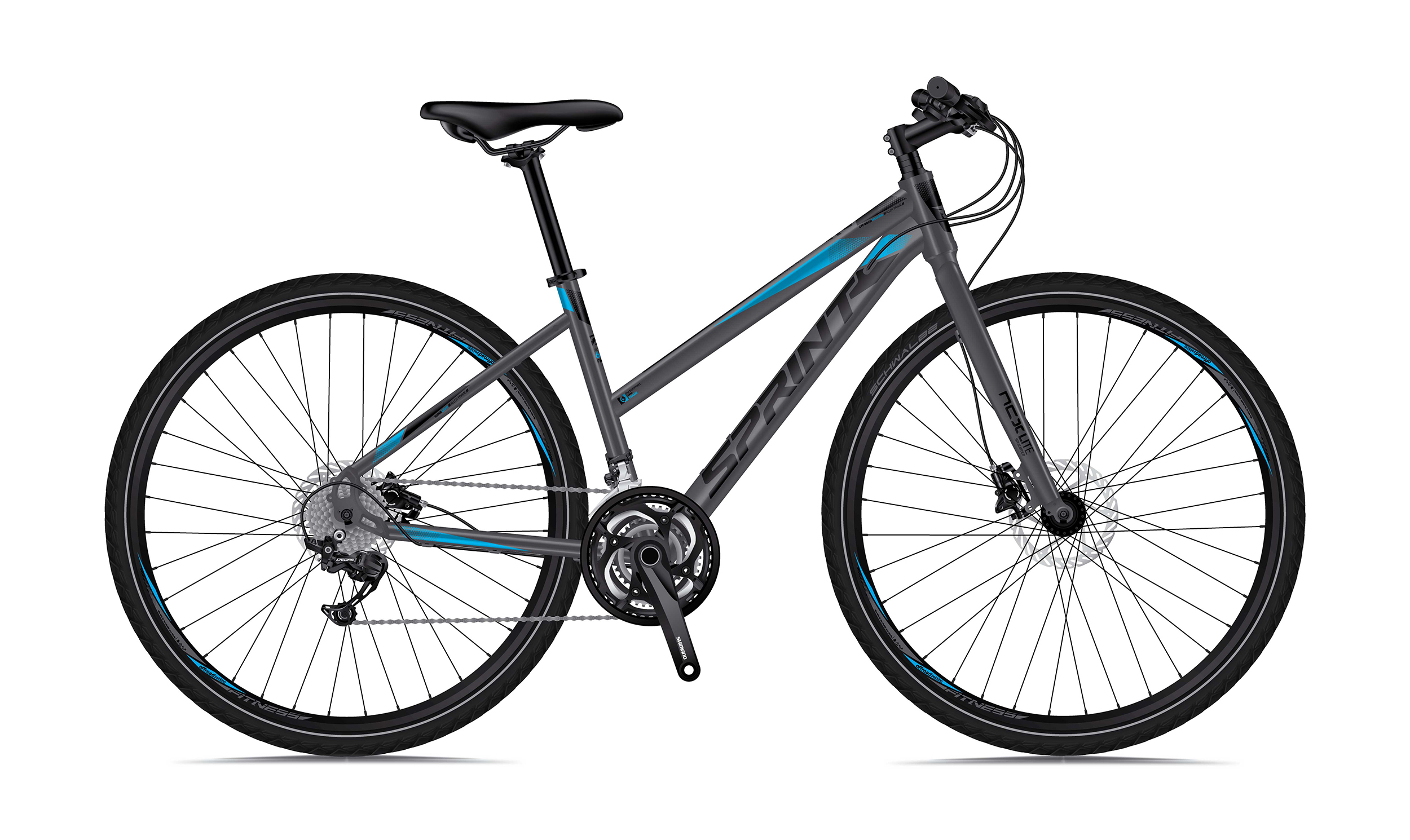 "Sprint - Градски велосипед Sprint SINTERO PLUS LADY RIGID 28"" 2018"